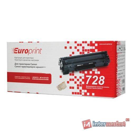 Картридж Europrint EPC-728 (черный)