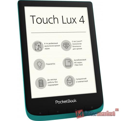 Электронная книга PocketBook Touch Lux 4, 6