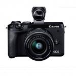 Фотоаппарат гибридный CANON EOS M6 Mark II M15-45 mm S + EVF