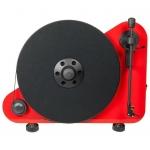 Виниловый проигрыватель Pro-Ject VT-E R OM5e Red