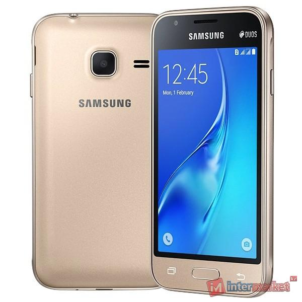 Смартфон Samsung Galaxy J1 Mini SM-J105H, Gold