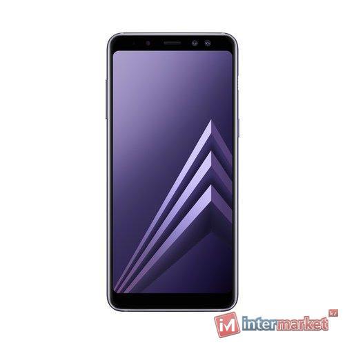 Смартфон Samsung Galaxy A8 (2018), Orchid Grey