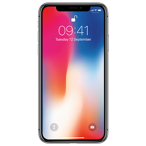 Телефон сотовый Apple iPhone X 256GB (Space grey)